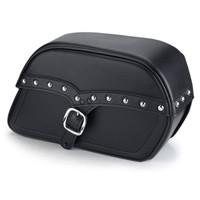 Boulevard S50, Intruder 800 Universal SS Medium Slanted Studded Bags Main Image