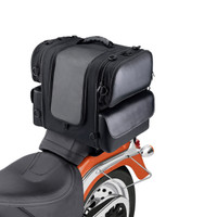 Honda Viking Phat Motorcycle Sissy Bar bag on Bike View