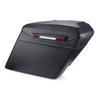 Harley Davidson Softail Springer Touring Bagger Leather Covered Stretched Saddlebags Main Image
