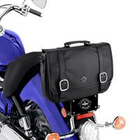 Yamaha Viking Messenger Bag On Bike View