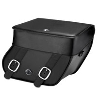 Yamaha Stryker Concord Leather Saddlebags Main Image