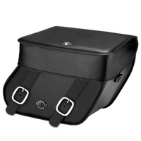 Yamaha V Star 1300 Tourer Concord Leather Motorcycle Saddlebags Main Image