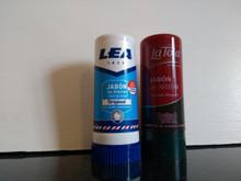 2 shaving soap sticks Lea 50gr and La Toja 50gr