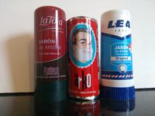 3 shaving soap sticks Lea 50gr La Toja 50gr Arko 75gr Euro selection pack