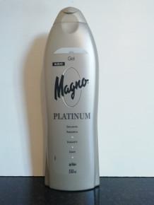 MAGNO PLATINUM SHOWER/BATH GEL 550ML FROM SPAIN.