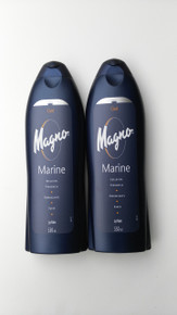Spanish Shower/Bath Gels x 2 bottles Magno Marine Fresh 550ml