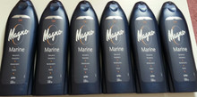 Spanish Shower/Bath Gels x 6 bottles Magno Marine Fresh 550ml