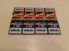 100 Double edge DE razor blades Gillette Polsilver Sputnik THE SHARP SELECTION.