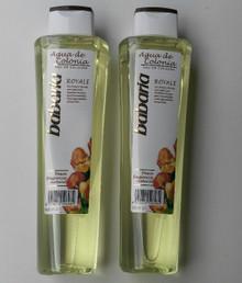 Luxury Spanish Babaria Royale Agua de Colonia/Eau de Cologne unisex 600ml x 2