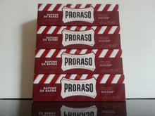 Proraso shaving cream 150ml tubes x 4 RED