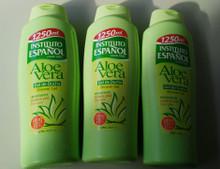 Instituto Espanol Shower Gel Aloe Vera 1250ML  X 3