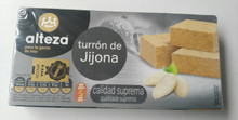 Alteza Turrón de Jijona 1 bar Spanish Almond delicacy 250g
