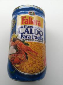 Fallera CALDO DE MARISCO Y PESCADO 600ml Concentrated broth for seafood paella