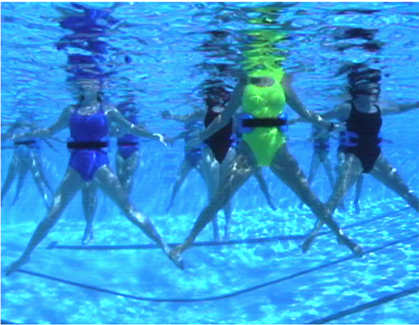 water aerobics exercise watergym