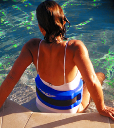 The BEST Water Exercise Float Belt for Water Aerobics by WaterGym