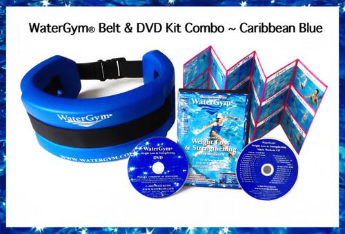 Water Aerobics Exercise DVD Weight Loss WaterGym Belt