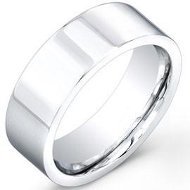 Cobalt Chrome Wedding Band Rings Tungstenjeweler Com