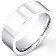 Cobalt Chrome Wedding Band Rings