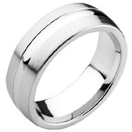 "Cobalt Chrome ""Wedding Band Ring"""