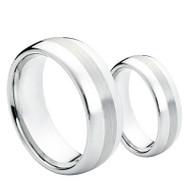 "His & Her's Cobalt Ring ""Verdana"""