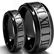 His & hers Tungsten Set  (2rings)