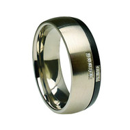 "Titanium ""Wedding Band Ring"""