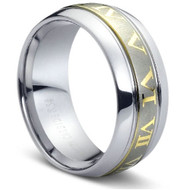 """Tungsten Ring """" High Polish & Matt Finish """" Stunning"""