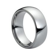 "Domed Tungsten ""Ring"""