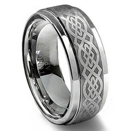 "Laser Engraved ""Tungsten Rings"""