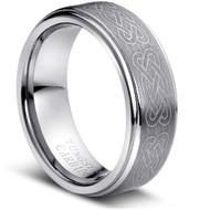 """Tungsten Ring """"Celtic Knott """""""