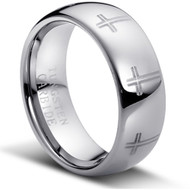 """Tungsten Carbide Ring """"High Polished"""""""