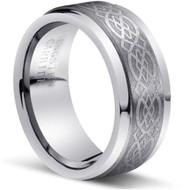 Tungsten Ring High Polish and Matt Finish
