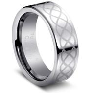 "Tungsten Ring ""Celtic Design """