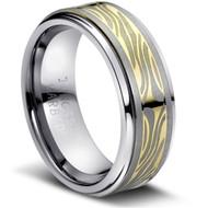 """Tungsten Ring  """" High Polish & Matt Finish """""""