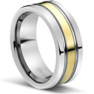 """Tungsten Ring """" High polished """"  Comfort Fit"""