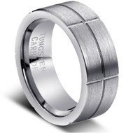 """Tungsten Ring """" Matte Finished"""""""