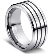 """Tungsten Ring Domed """" High Polished """""""