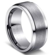 "Tungsten Ring ""Brushed """