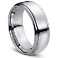"""Tungsten Ring """" High Polished"""" Perfect for Him/Her"""