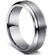"Tungsten Ring ""Matte & polished"""