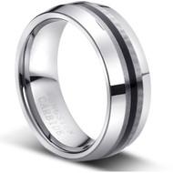"Tungsten Ring "" Matte Finish """