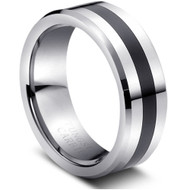 """Tungsten Ring """" High Polished"""" Finely polished"""