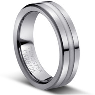 "Tungsten Ring"" High Polished"""