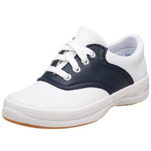 Navy & White Saddle Shoes Keds