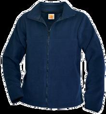 Embroidered Full Zip Fleece_