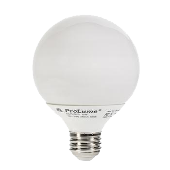 Compact Fluorescent Bulb Screw Base model CFL15/27/G28