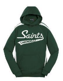 Sport Wick Hooded Sweatshirt with Logo, Spirit Wear  (1005)