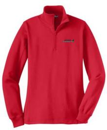 Ladies Quarter-Zip Sweatshirt (1037)