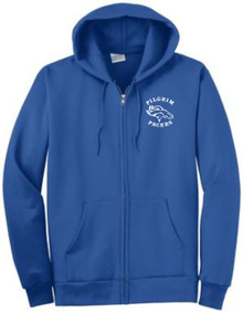 Full-Zip Hooded Sweatshirt (1039)