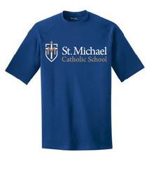 Performance T-Shirt Short Sleeve with Logo, Spirit Wear (1045)